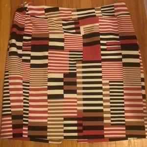 Nine West multicolor skirt